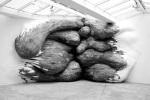 Colossal Organic Wooden Sculptures by Henrique Oliveira